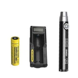 Nitecore GEM10UV GEM IDENTIFICATION Flashlight w NL1835 Battery UM10 Charger
