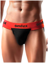Omtex Rio Supporter Back Covered for men - Red XL