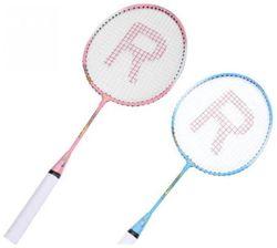 st gold kids racket Blue Unstrung Badminton Racquet (S3 - Small 100 g)