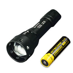 Sunwayman T25C CREE XM-L2 U3 LED Zooming Flashlight w NL183 Battery