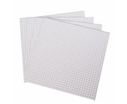 50x50 Studs Base Plate Board Building Blocks Brick Baseplate Compatible for Lego White