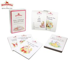 Bunnykins Baby Milestone Keepsake Cards