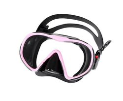 Adore Diving Goggles Anti-Fog Coated Glass Adult Diving Mask Glasses Suitable For Snorkeling Swimming Scuba Diving-Black powder