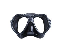 Adore Diving Mask Anti-Fog Tempered Glass Waterproof Lens Adjustable Strap Adult Swimming Goggles For Snorkeling Swimming Scuba Diving-Carbon Fiber Color