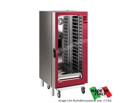 Primax Professional Line Combi Oven PDE-220-HD Combi Steam Ovens - Red