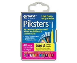 Piksters Size 3 (Yellow) - 40 Pack