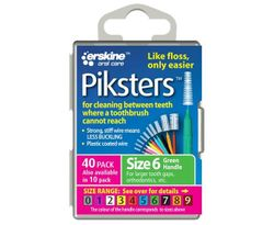 Piksters Tooth Cleaner Size 6 40 Pack