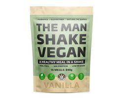 The Man Shake Vegan Vanilla Shake 840g