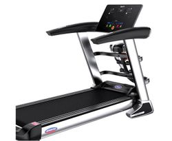 Multi-functional Electric Treadmill Pulse Sensor Fitness Home Gym Massage Sit Up Bar