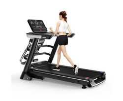 Multi-functional Electric Treadmill Pulse Sensor Fitness Home Gym Massage Sit Up