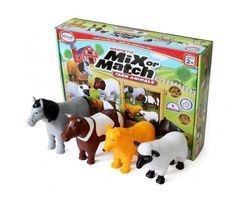 Mix or Match Animals - Farm
