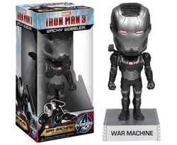 Iron Man 3 War Machine Wacky Wobbler Bobble Head