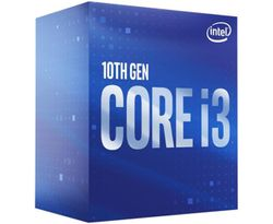 Intel Comet Lake Core i3 10105 4 Core 3.7Ghz, LGA 1200, 4 Core/ 8 Threads, Max Turbo 4.4 GHz, Intel 400 Series Motherboard Required