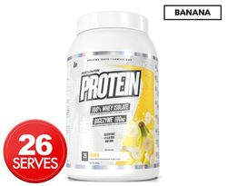 Muscle Nation Protein 100% Whey Isolate Banana 990g / 26 Serves