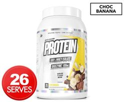 Muscle Nation Protein 100% Whey Isolate Choc Banana 990g / 26 Serves