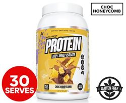Muscle Nation Protein 100% Whey Isolate Choc Honeycomb 858g / 26 Serves