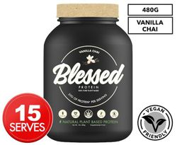 Blessed by EHP Labs Plant Based Protein Vanilla Chai 439g