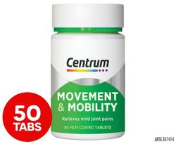 Centrum Movement & Mobility Tablets 50-Pack