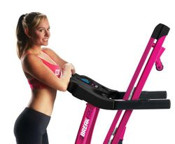 CardioTech Breakfree Hot Pink Treadmill With Fan And Smart Phone/MP3 Compatible Speakers