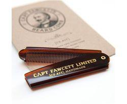 Capt Fawcett's Folding Mens Beard Comb