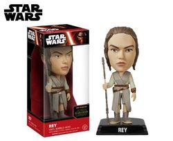 Star Wars: The Force Awakens Rey Bobble Head