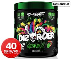 Faction Labs Disorder Passionfruit Pre-Workout Powder Passionfruit 50 Serves