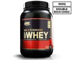 Optimum Nutrition Gold Standard 100% Whey Protein Powder Double Rich Chocolate 2lb