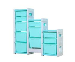 ALL 4 KIDS Hanna Combined Storage Unit - Blue