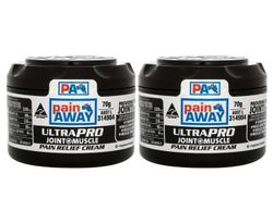 2 x Pain Away Ultra Pro Joint & Muscle Pain Relief Cream 70g