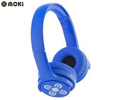 Moki Kids' Brites Bluetooth Headphones - Blue - Blue