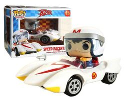Funko POP! Rides Speed Racer 75 Speed Racer With The Mach 5