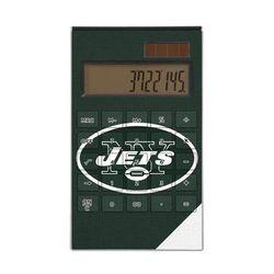 New York Jets Diagonal Stripe Desktop Calculator