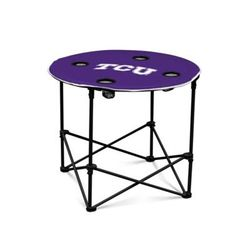 Logo NCAA TCU Horned Frogs Round Table