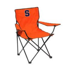 Logo Orange NCAA Syracuse Orange Quad Chair