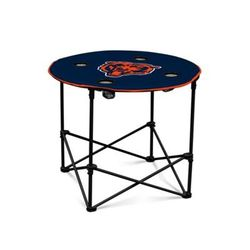 Logo Blue NFL Chicago Bears Round Table