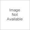 Bürostuhl Turbo XL mit Fußablage-schwarz/blau-Kunstleder