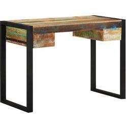 Asupermall - Schreibtisch Recyceltes Massivholz