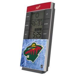 Minnesota Wild Digital Desk Clock