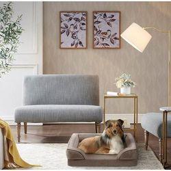 Martha Stewart Bella Pet Couch in Brown - Olliix MS63PC5359