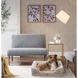 Martha Stewart Bella Pet Couch in Tan - Olliix MS63PC5357M