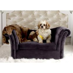 Dachshund Grey Pet Bed - TOV Furniture TOV-P2034-G