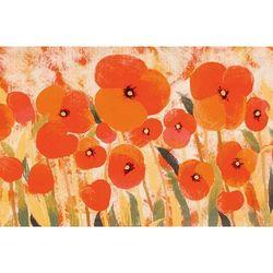 """Liora Manne Illusions Poppies Indoor/Outdoor Mat Red 29""x49"" - Trans Ocean ILU34328324"""
