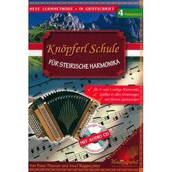 Knöpferl-Musikverlag Schule Steirische 4 Fingersatz