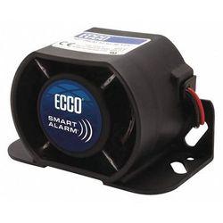 "ECCO EA9724 Back Up Alarm,Drawn 0.7A,3-7/64"" H,Black"