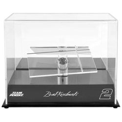 Brad Keselowski Fanatics Authentic 2 Team Penske 1/24 Scale Die Cast Display Case With Platforms