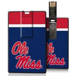 Ole Miss Rebels 16GB Credit Card USB Flash Drive