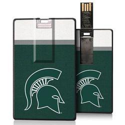 Michigan State Spartans 16GB Credit Card USB Flash Drive