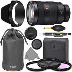 Sony FE 24-70mm f2.8 GM: Sony FE 24-70mm f/2.8 GM Lens G Master Series Pro Lens + AOM Pro Starter Bundle Kit - SEL2470GM