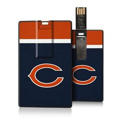 Chicago Bears Striped Credit Card USB Drive