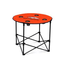 Logo Orange NFL Denver Broncos Round Table